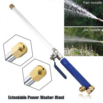 Car High Pressure Water Gun 46cm Jet Garden Washer Hose Wand Nozzle Sprayer Watering Spray Sprinkler Cleaning Tool