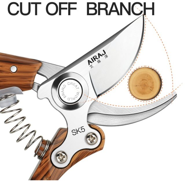 Pruning Shears, Which Used in Gardens,Fruit Trees,Flowers and other Home Garden Scissors Multi-Category Garden Hand Tools