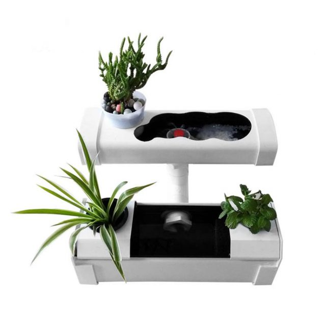 1 Set Plant Site Mini Nursery Pots DIY Hydroponic Systems Soilless Cultivation Plant Seedling Grow Kit Balcony Office Home
